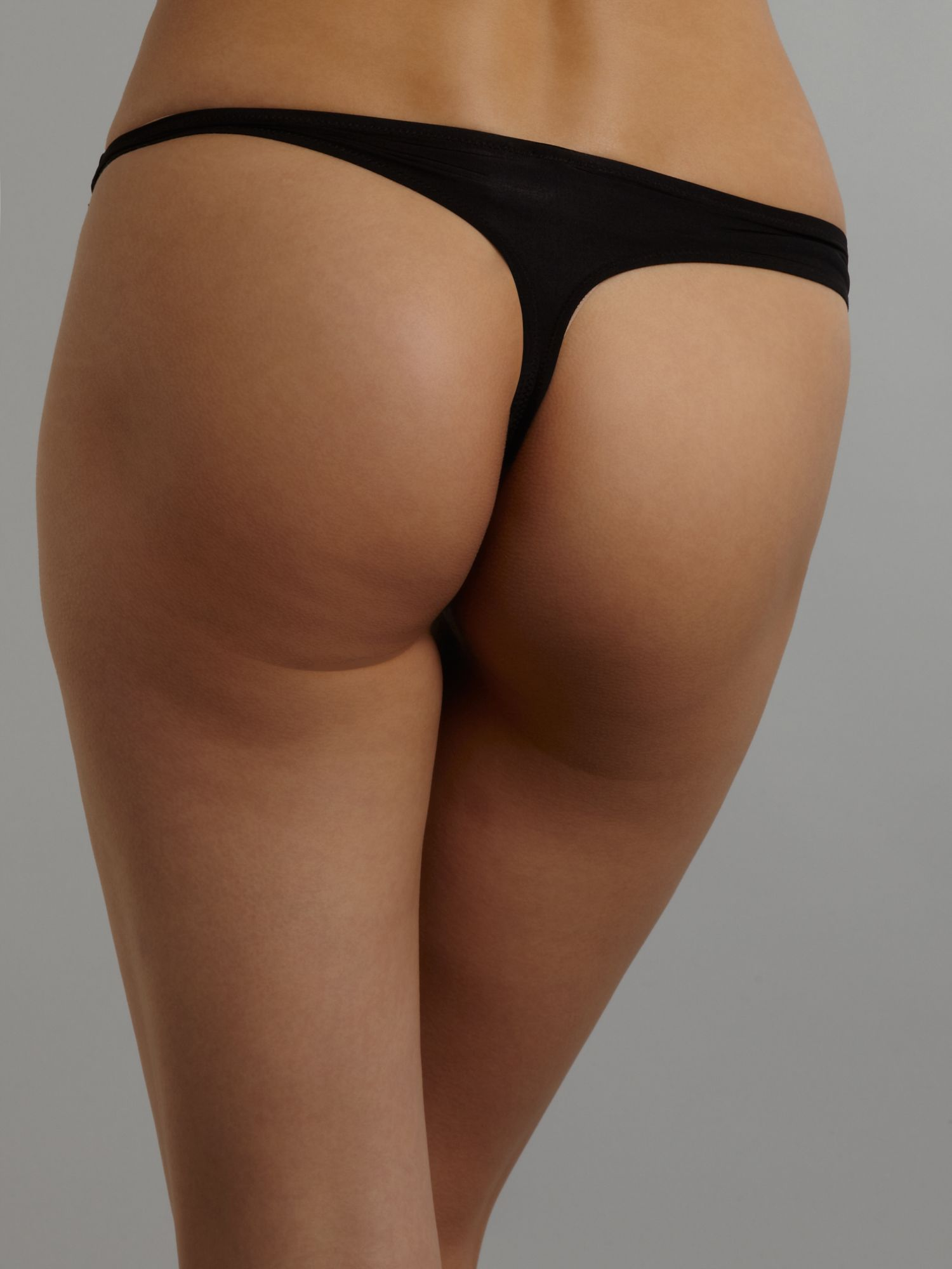 Ultimate strapless lace thong