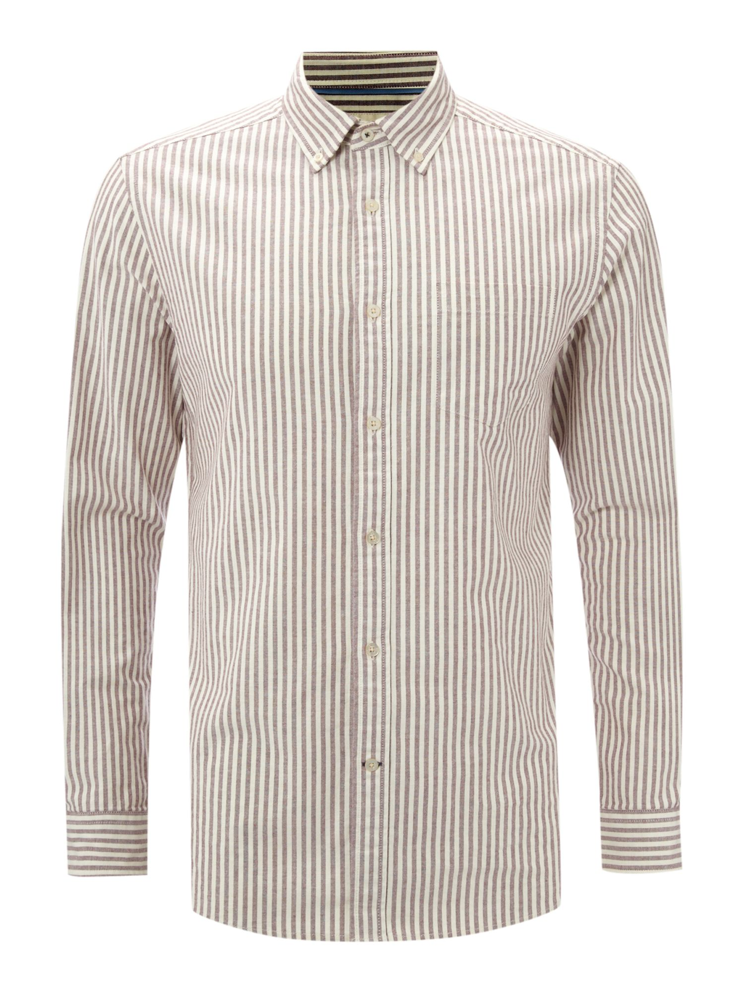 Mercer stripe long sleeve shirt
