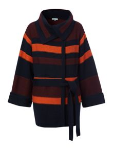 Dickins & Jones Ladies knitted blanket cardigan