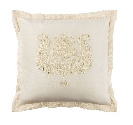 Chic ecru 42x42 cushion cover