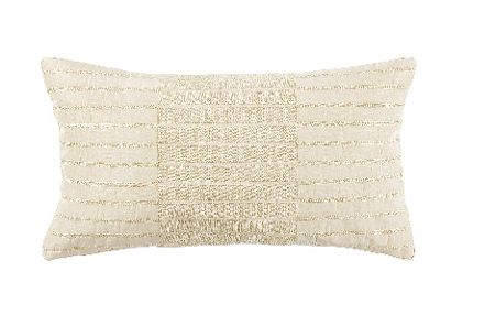 Yves Delorme Must have ecru 30x50 cushion cover