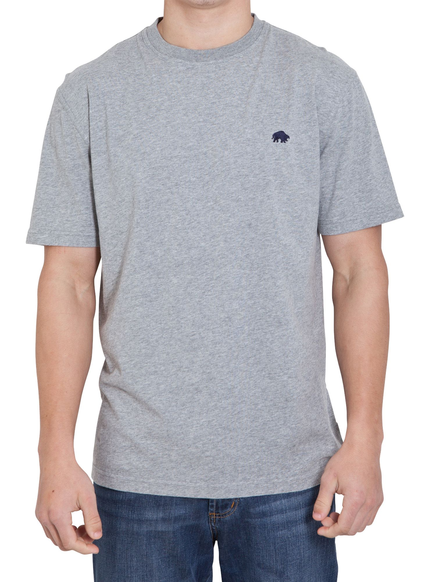Raging Bull Mens Raging Bull Classic t-shirt, Grey Marl product image