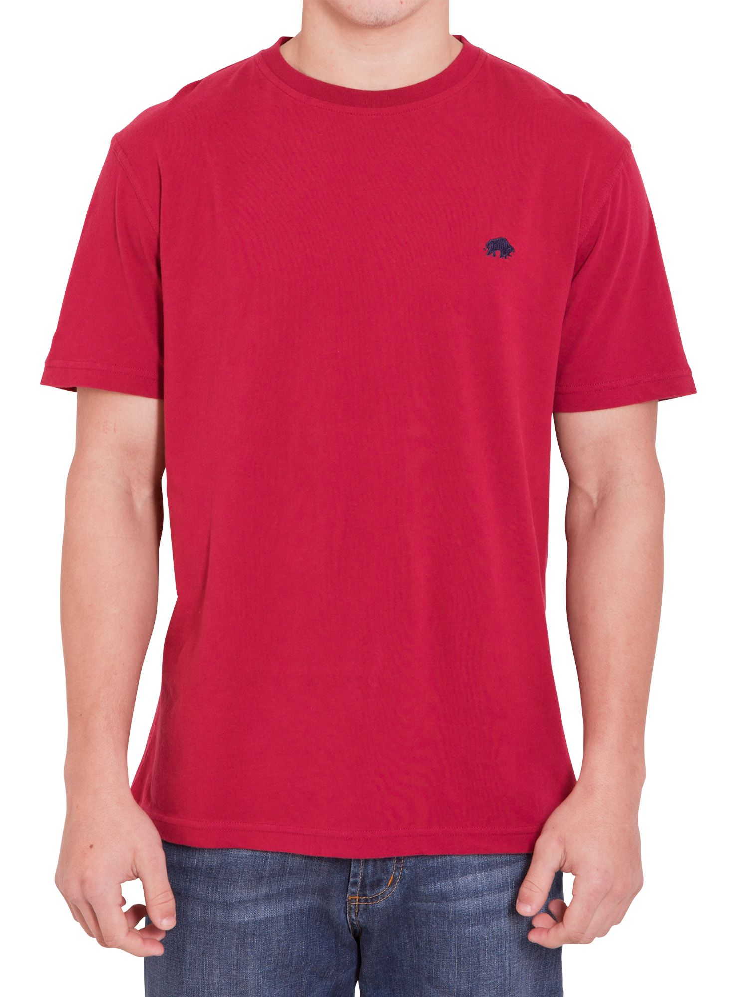Raging Bull Mens Raging Bull Classic t-shirt, Red product image