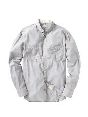 French Connection Chambray voile shirt