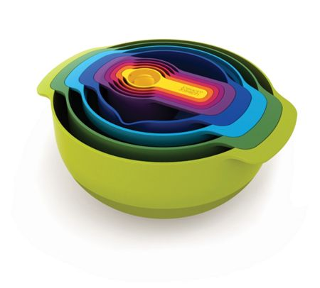 Nest 9 Plus, 9-Piece Set - Multi Colour