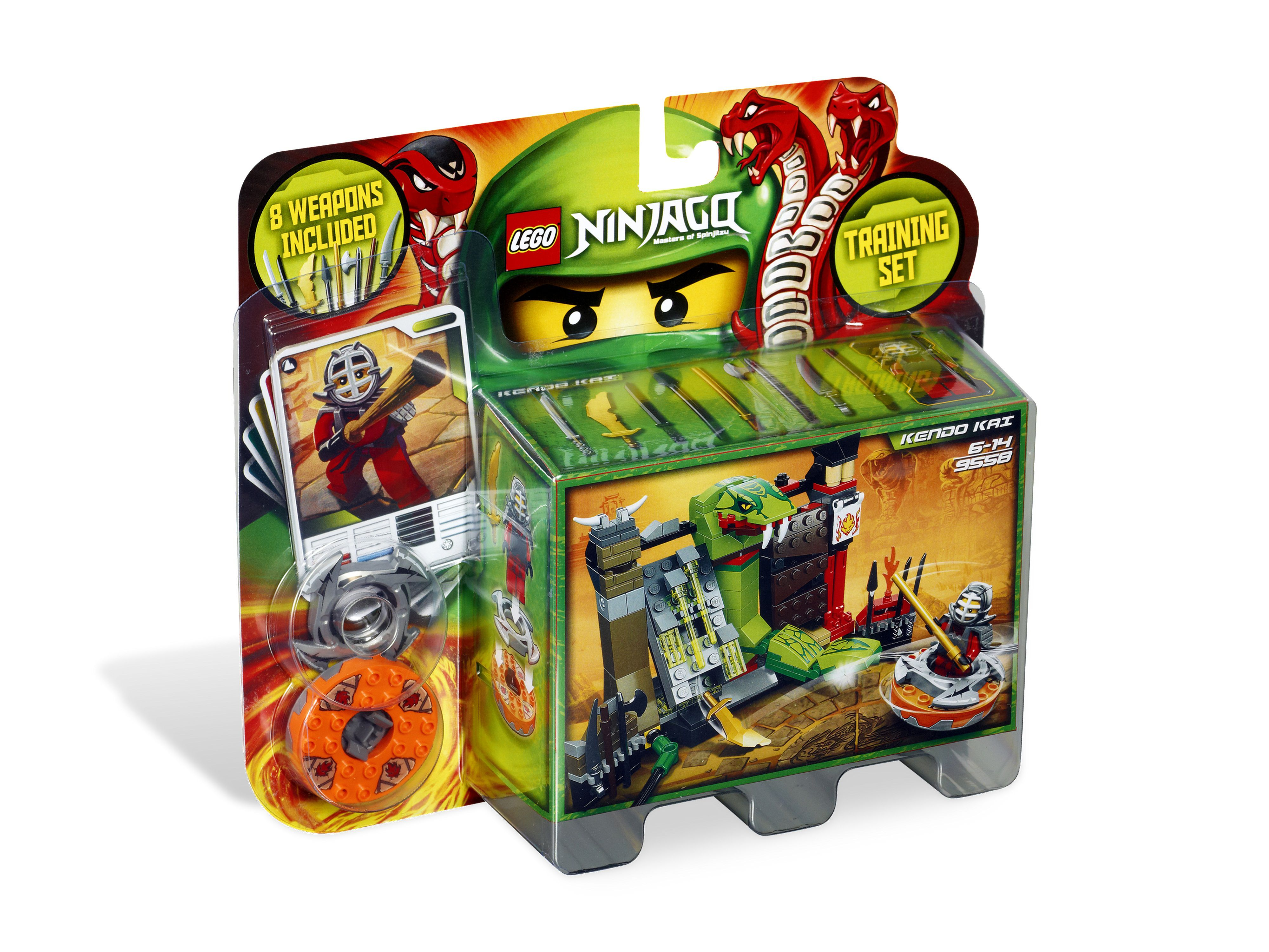 Lego 9958 Training Set Ninjago
