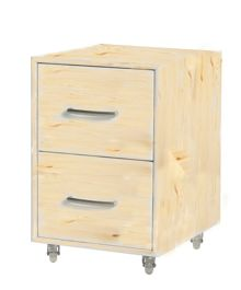 Flexa Chest of drawers on casters