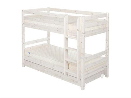 Flexa Single bunks with drawers with ladder