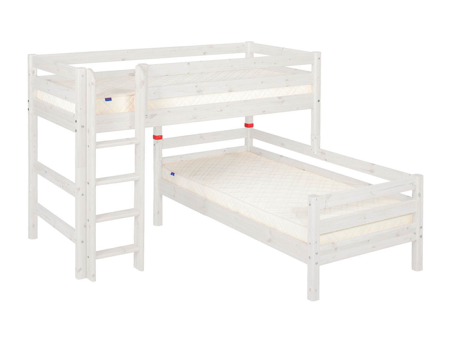 Flexa Flexa Stepped or angled bunk beds with ladder