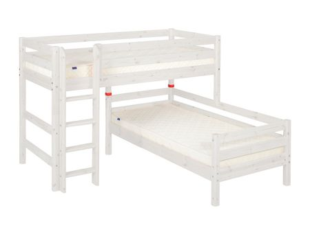 Flexa Stepped or angled bunk beds with ladder