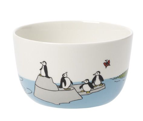 Funny zoo cereal bowl