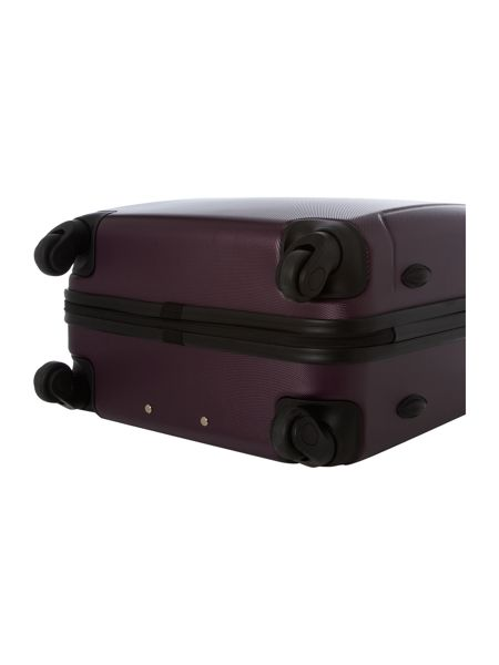 Linea Lincoln large silver 4 wheel suitcase
