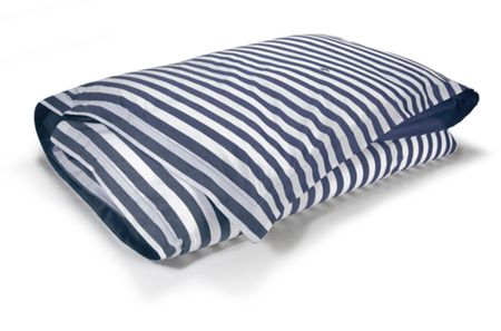 Ralph Lauren Home Club stripe navy king duvet cover