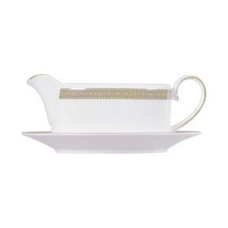 Wedgwood Lace gold sauceboat