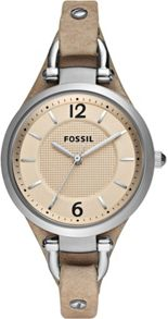 Fossil ES2830 Georgia Sand Leather Ladies Watch