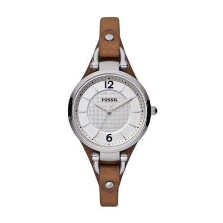 Fossil ES3060 Georgia Tan Leather Ladies Watch