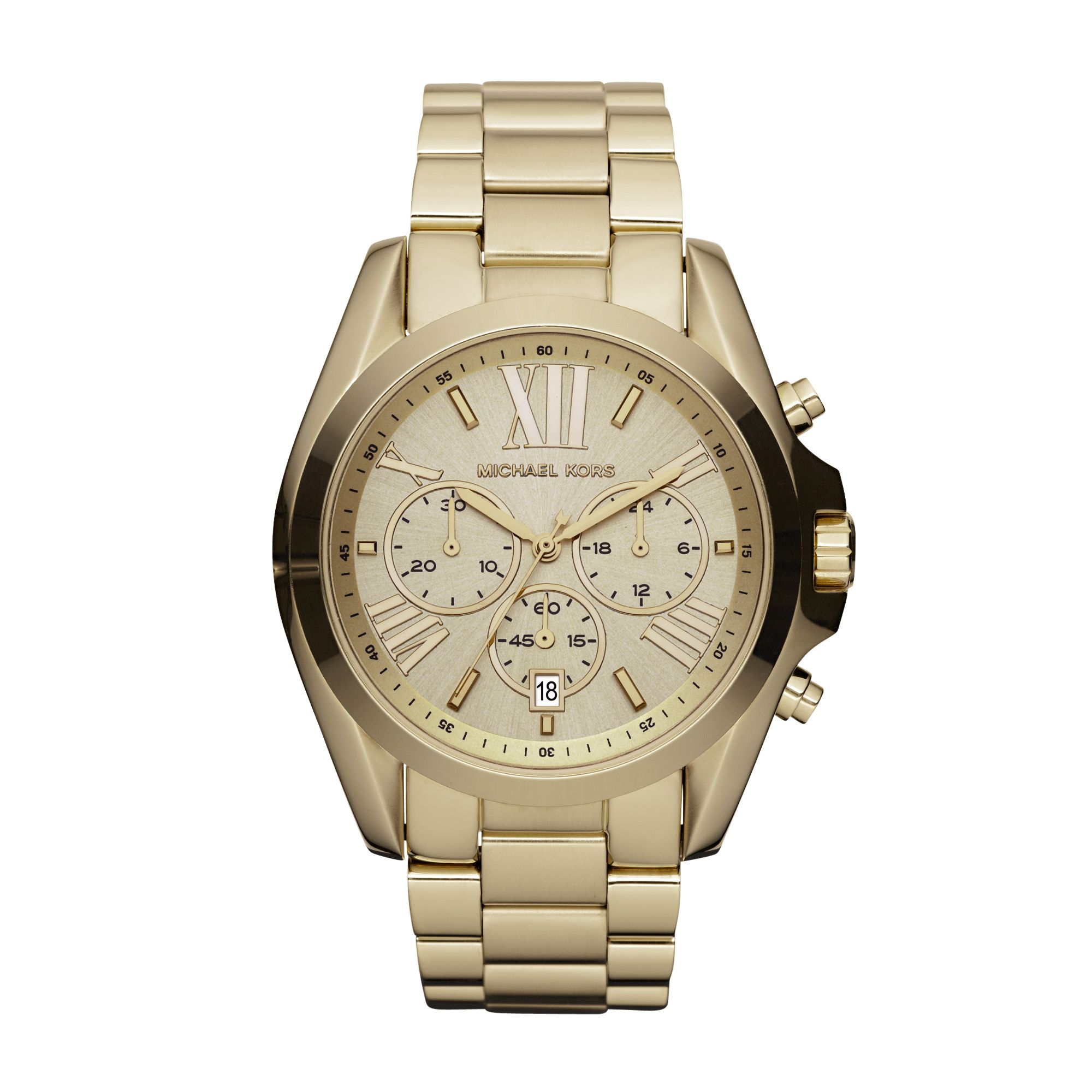 Michael Kors MK5605 Bradshaw Gold Ladies Bracelet Watch