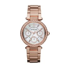 MK5616 Parker Rose Gold Ladies Watch