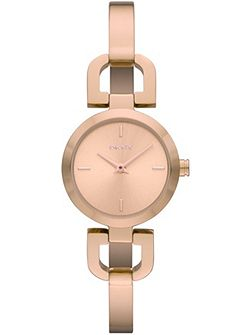 NY8542 Essential Rose Gold Ladies Bracelet Watch