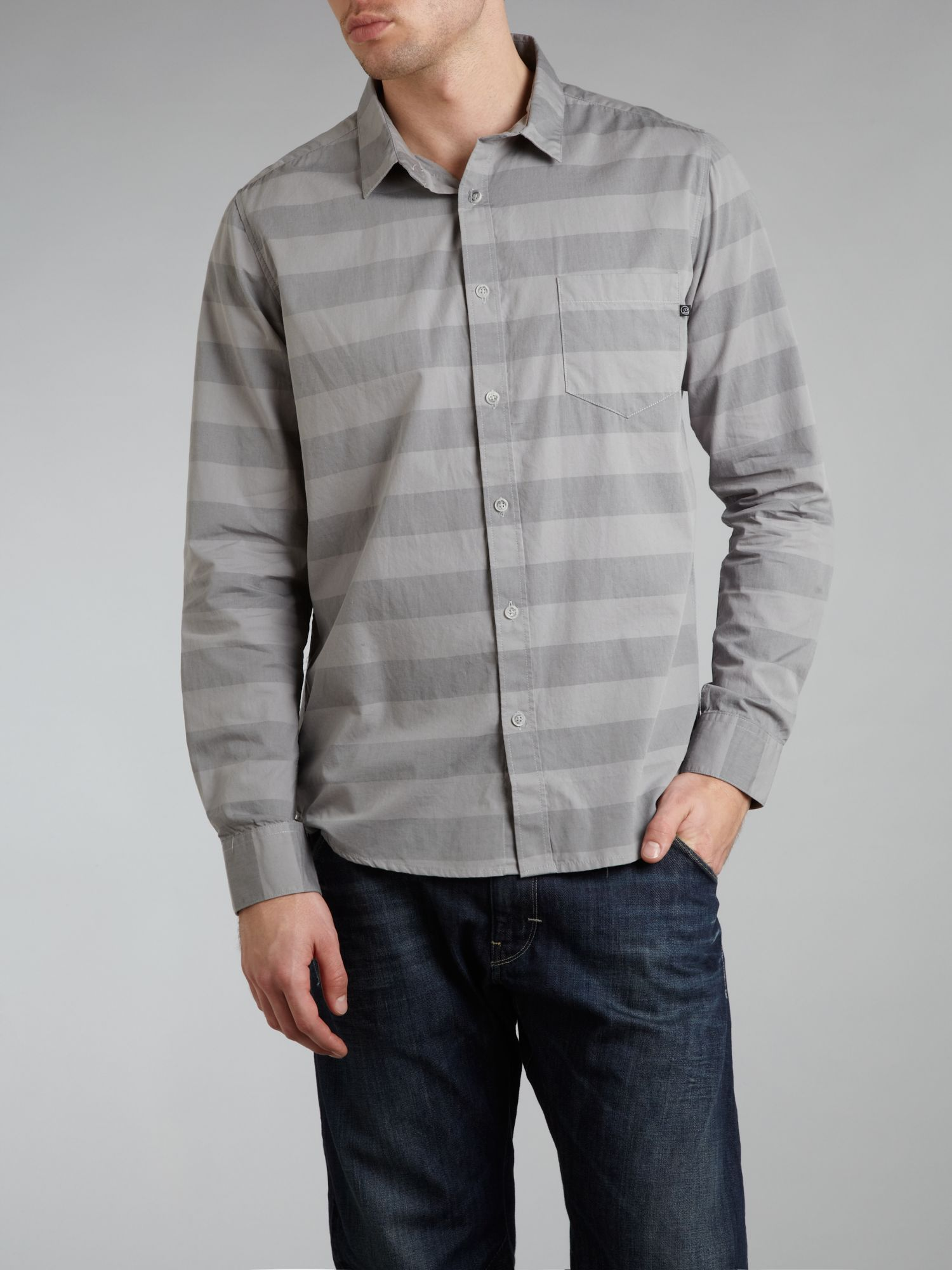 Striped long sleeve shirt