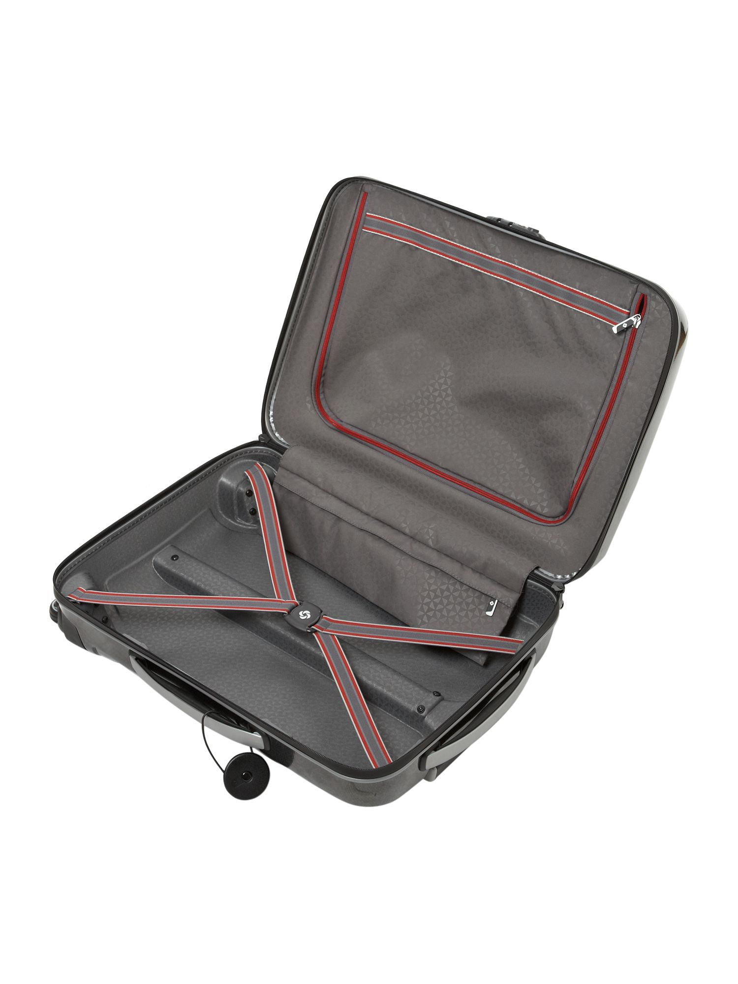Firelite Charcoal 55cm 4 Wheel Case
