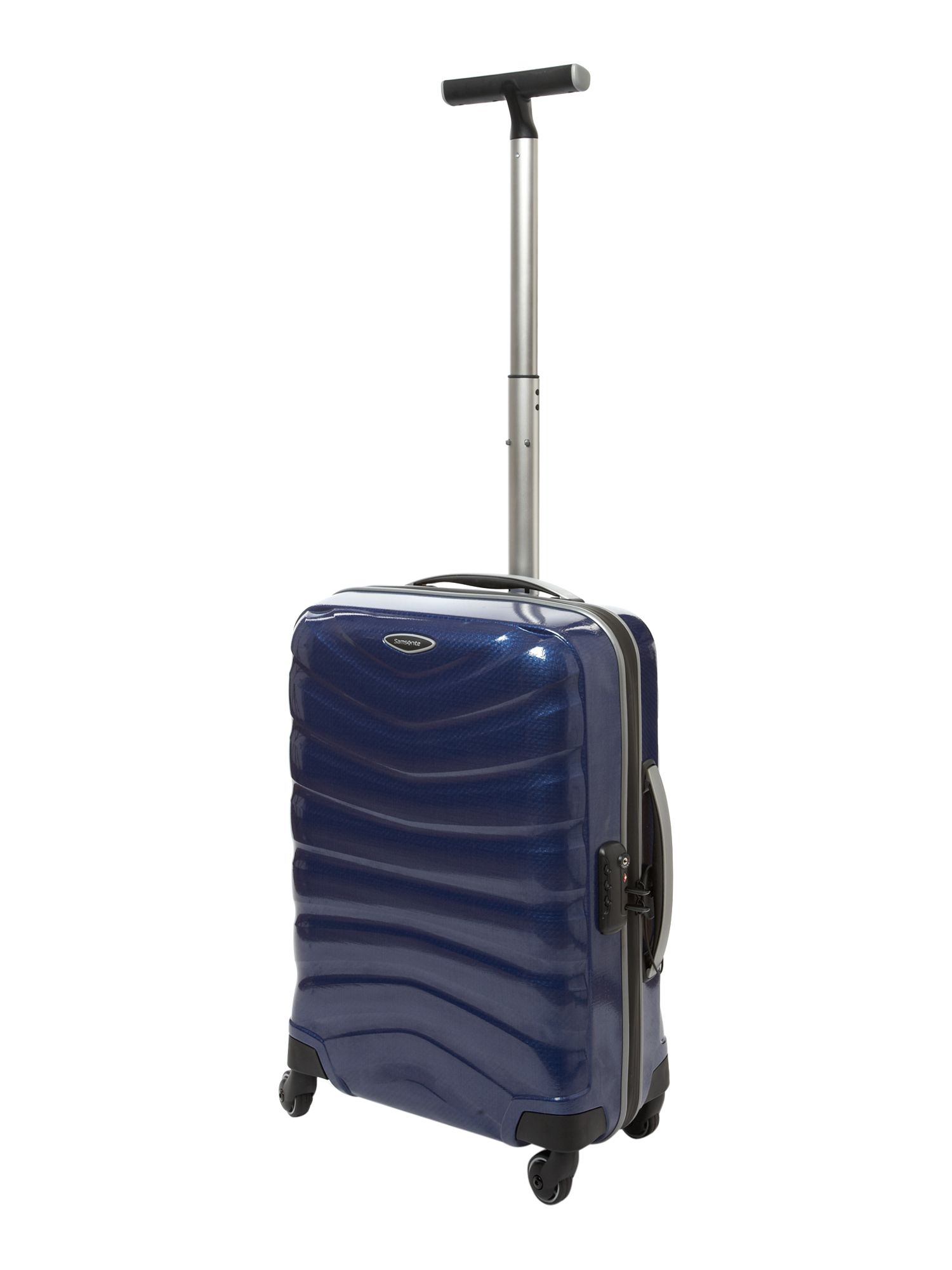 Firelite Blue 55cm 4 Wheel Case