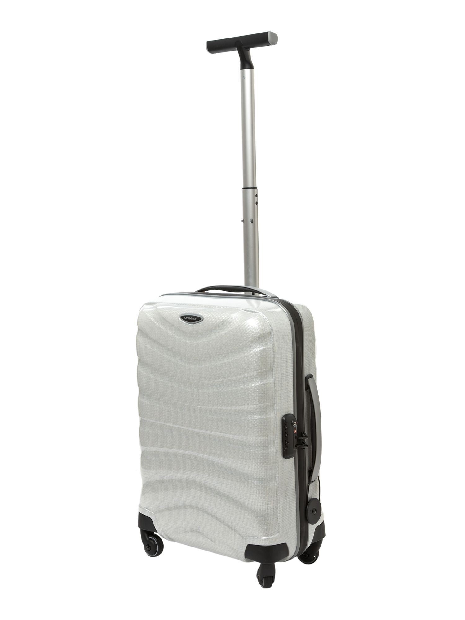 Firelite White 55cm 4 Wheel Case