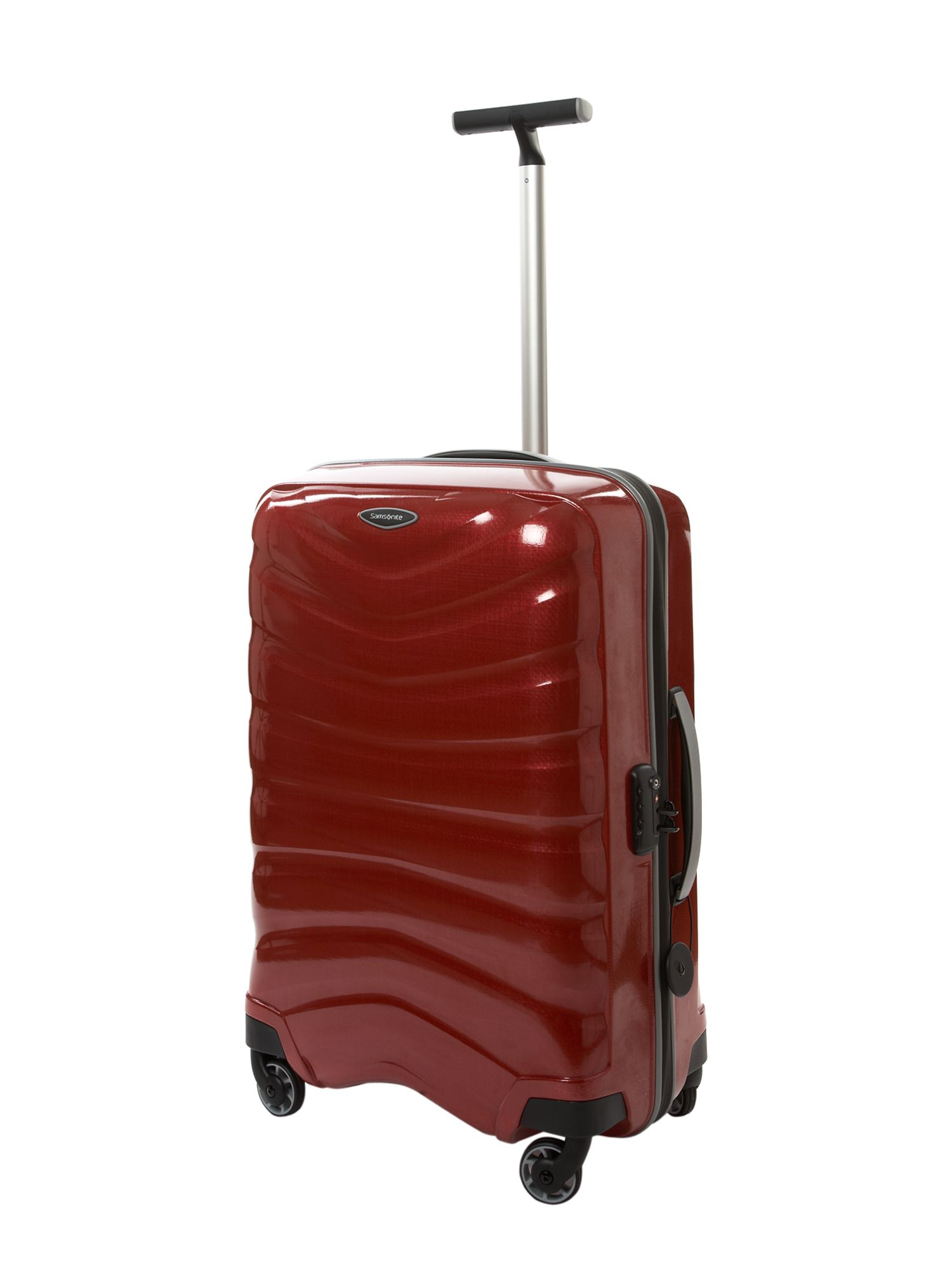 Firelite Red 69cm 4 Wheel Case