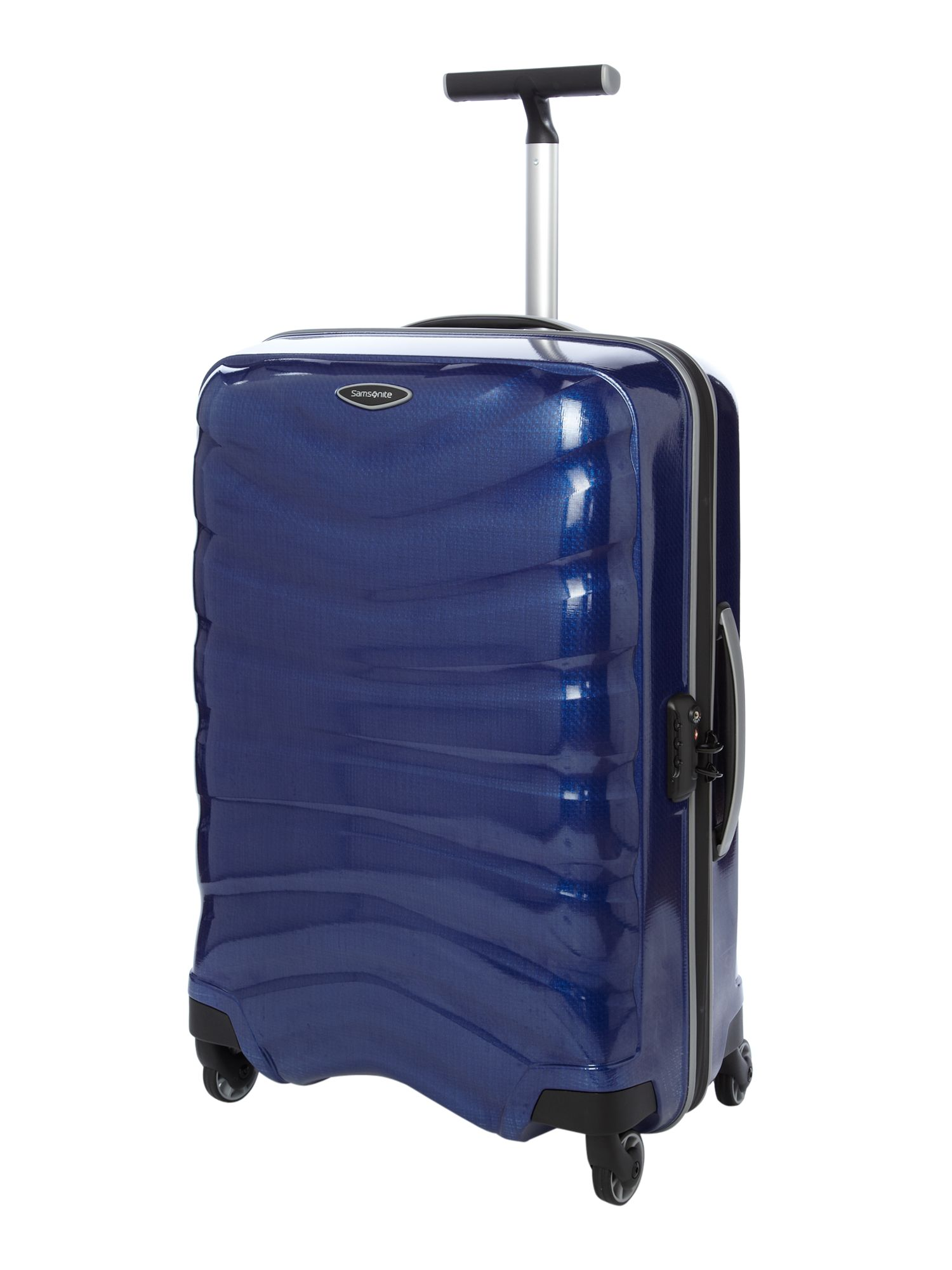 Firelite Blue 69cm 4 Wheel Case
