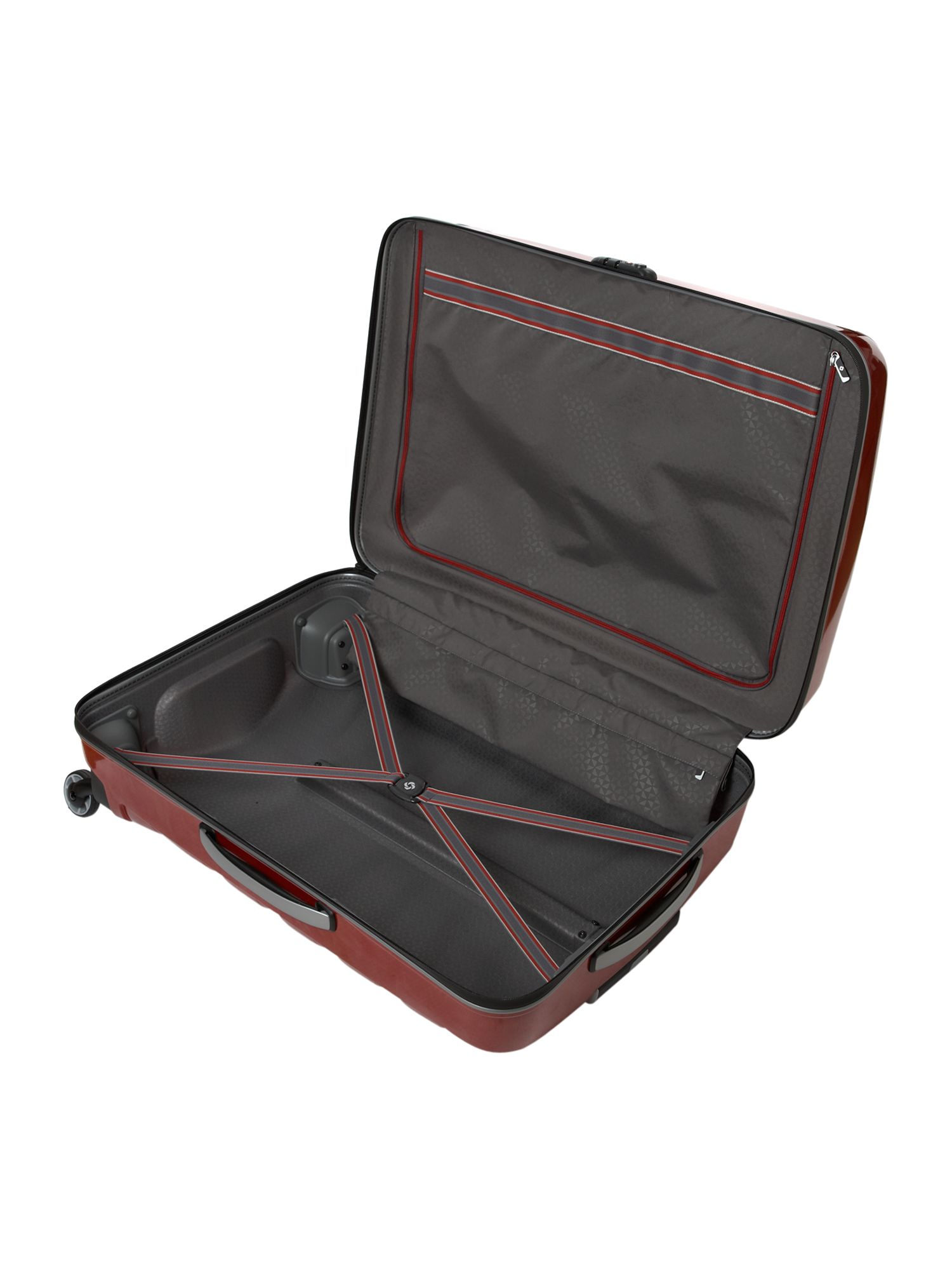 Firelite Red 75cm 4 Wheel Case