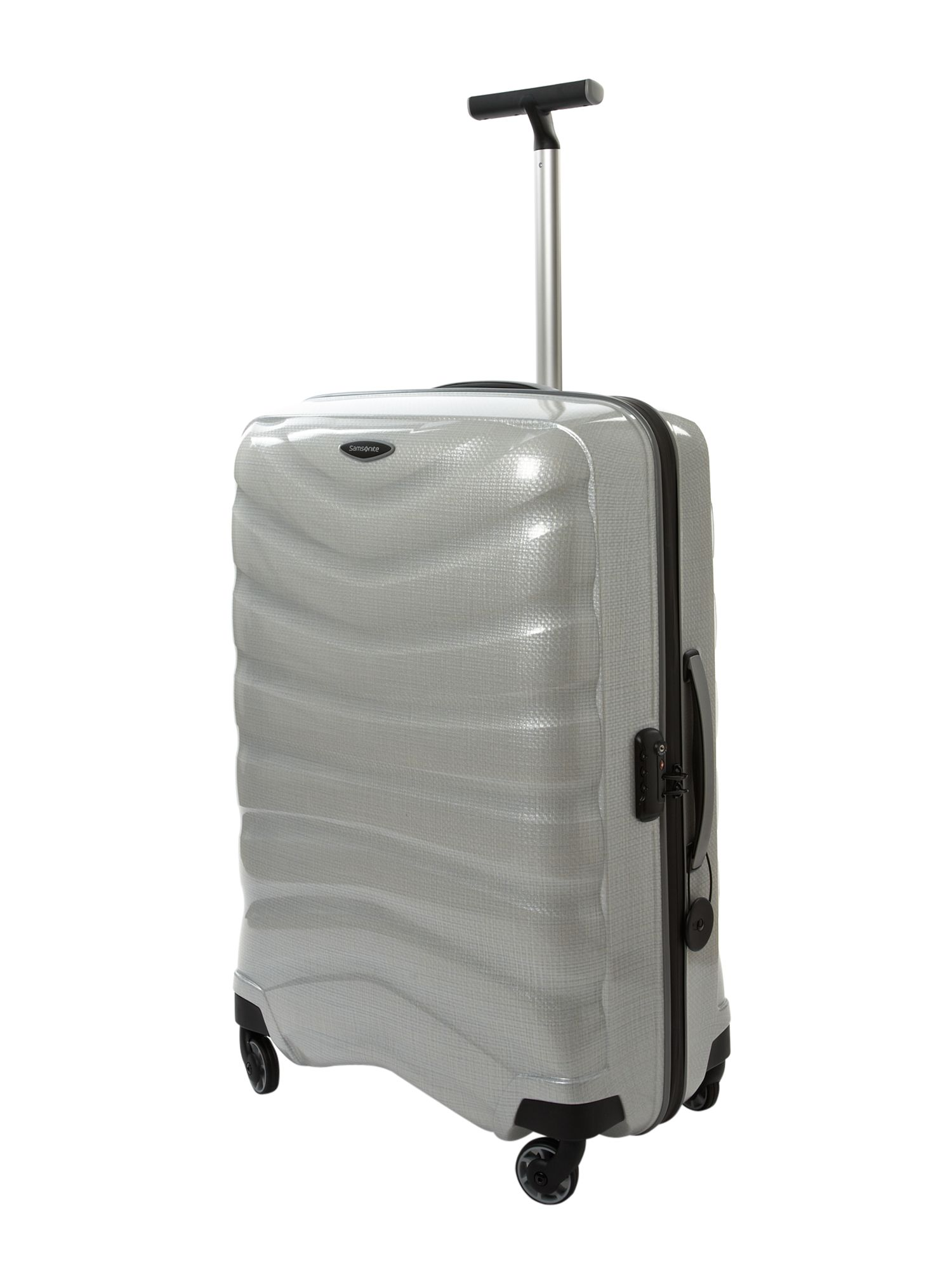 Firelite White 75cm 4 Wheel Case