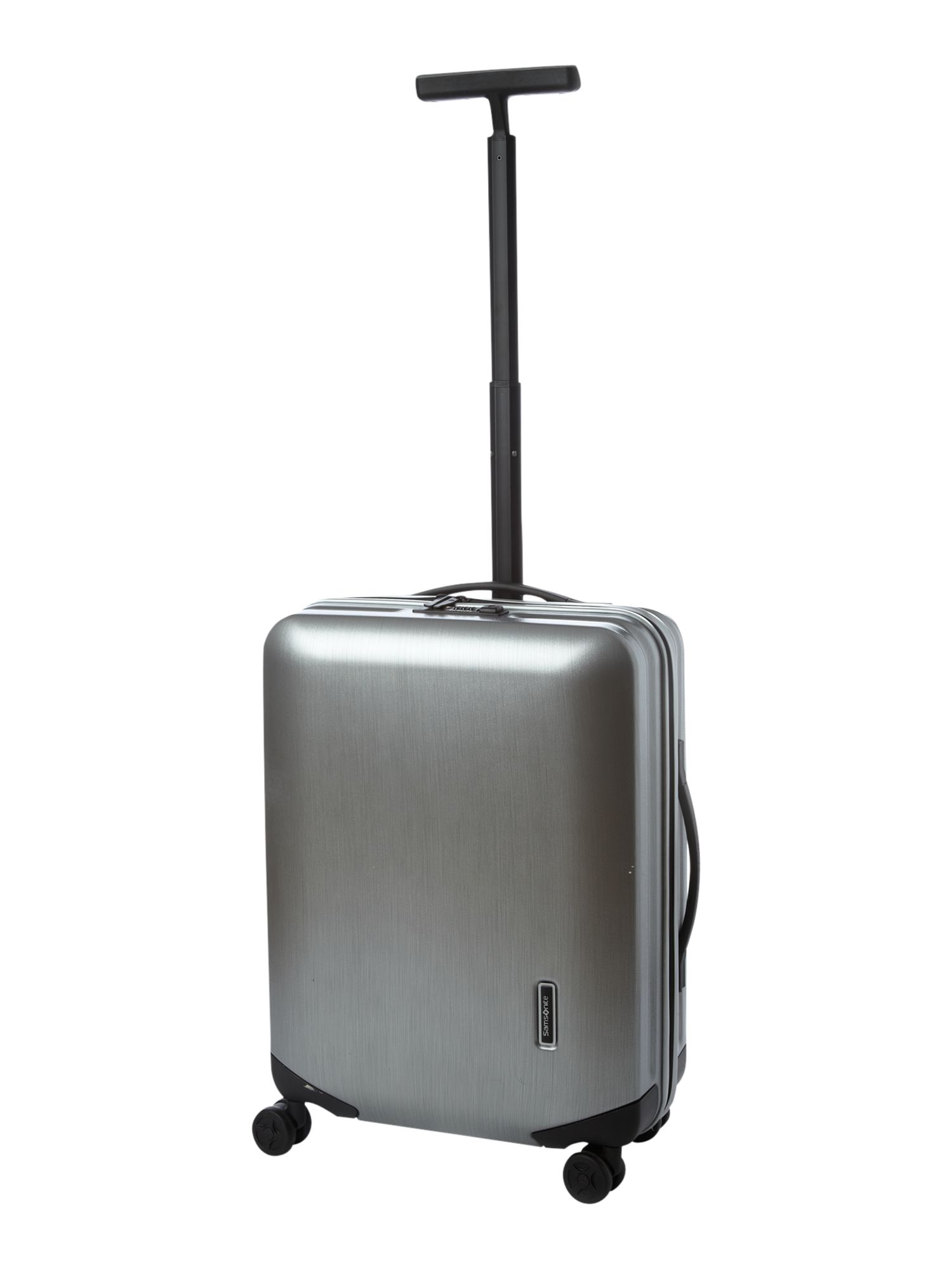 Inova 55cm Silver 4 Wheel Case