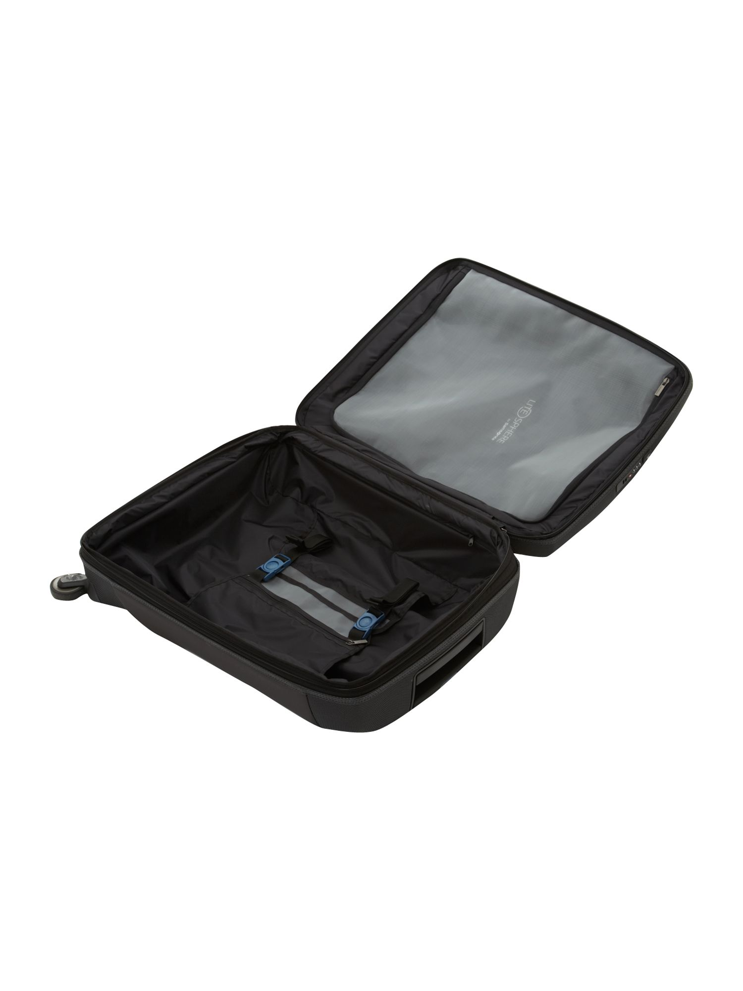 Litesphere Black 75cm 4 Wheel Case