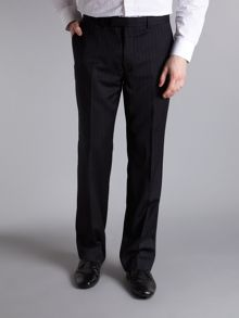 Howick Tailored Harrison wide prinstripe suit trouser