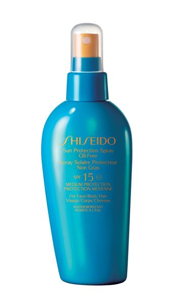 Shiseido Sun Protection Oil Free Spray SPF 15