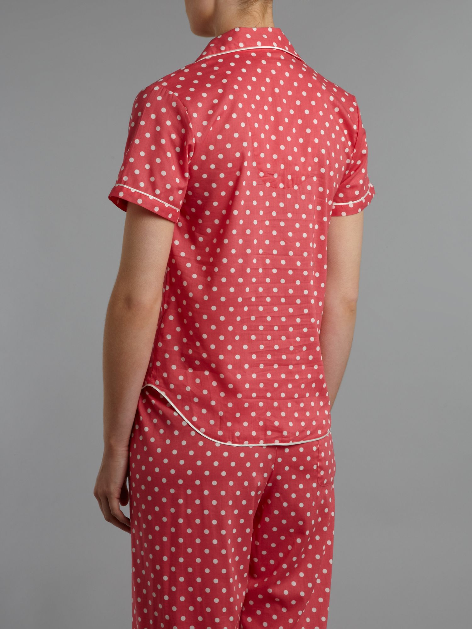 Spot PJ Short Sleeve Top