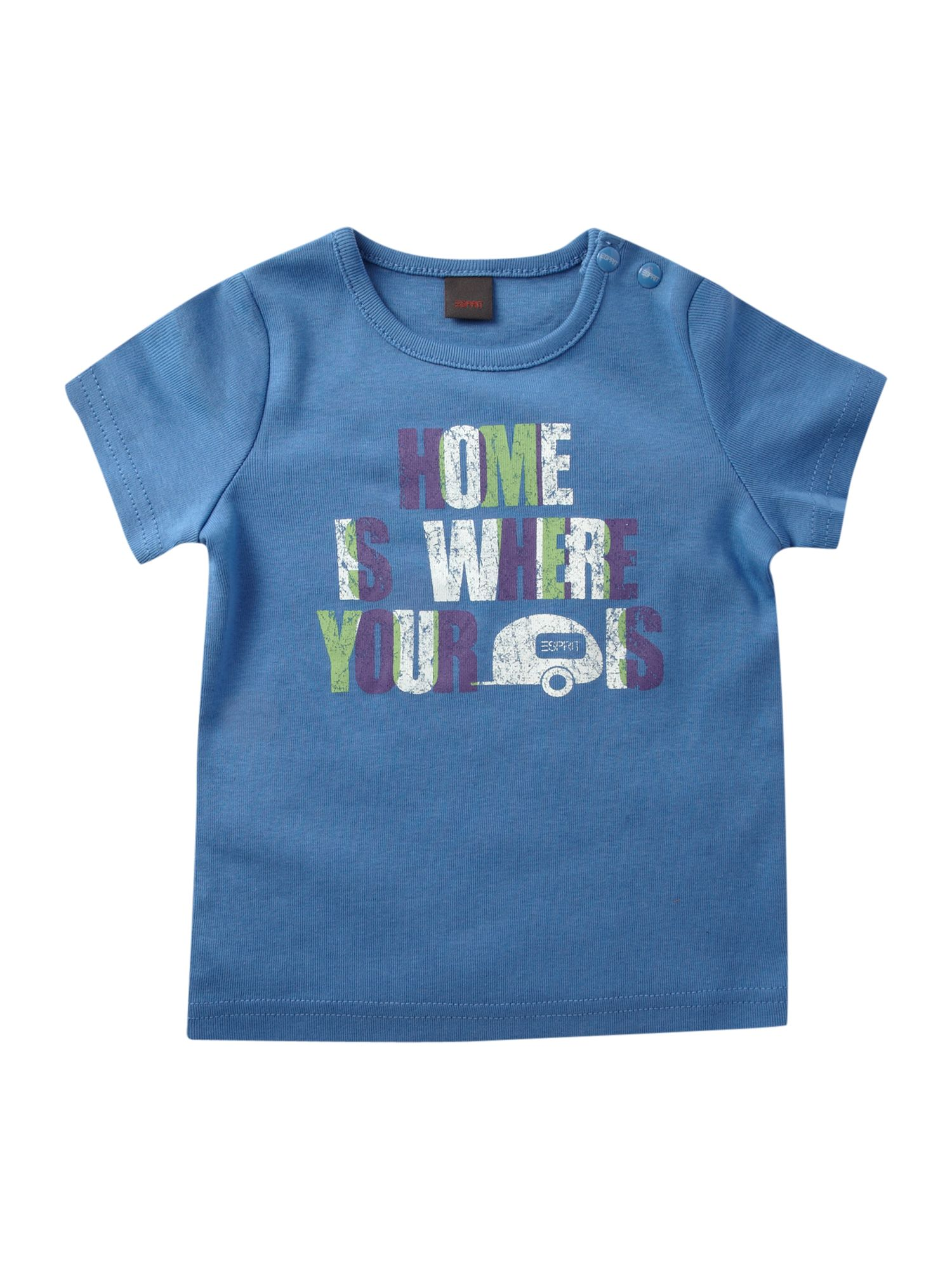 Esprit Short-sleeved home text print t-shirt, product image