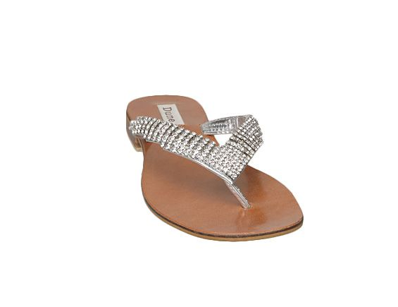 Keeper d v diamante toe post sandals