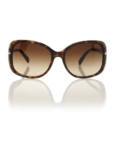 Prada Sunglasses Prada ladies PR080S havana square sunglasses