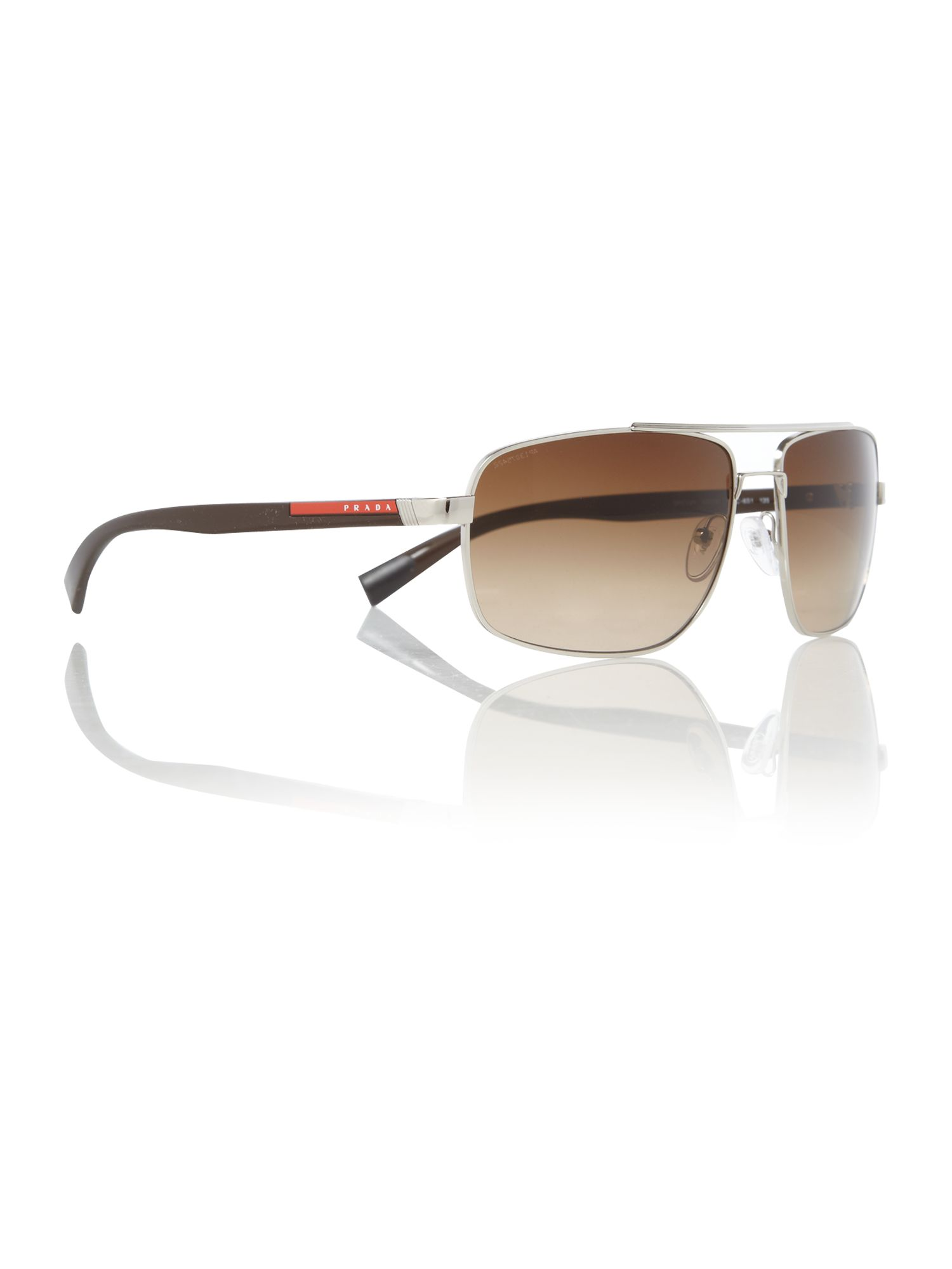 Mens PS55NS Silver Sunglasses