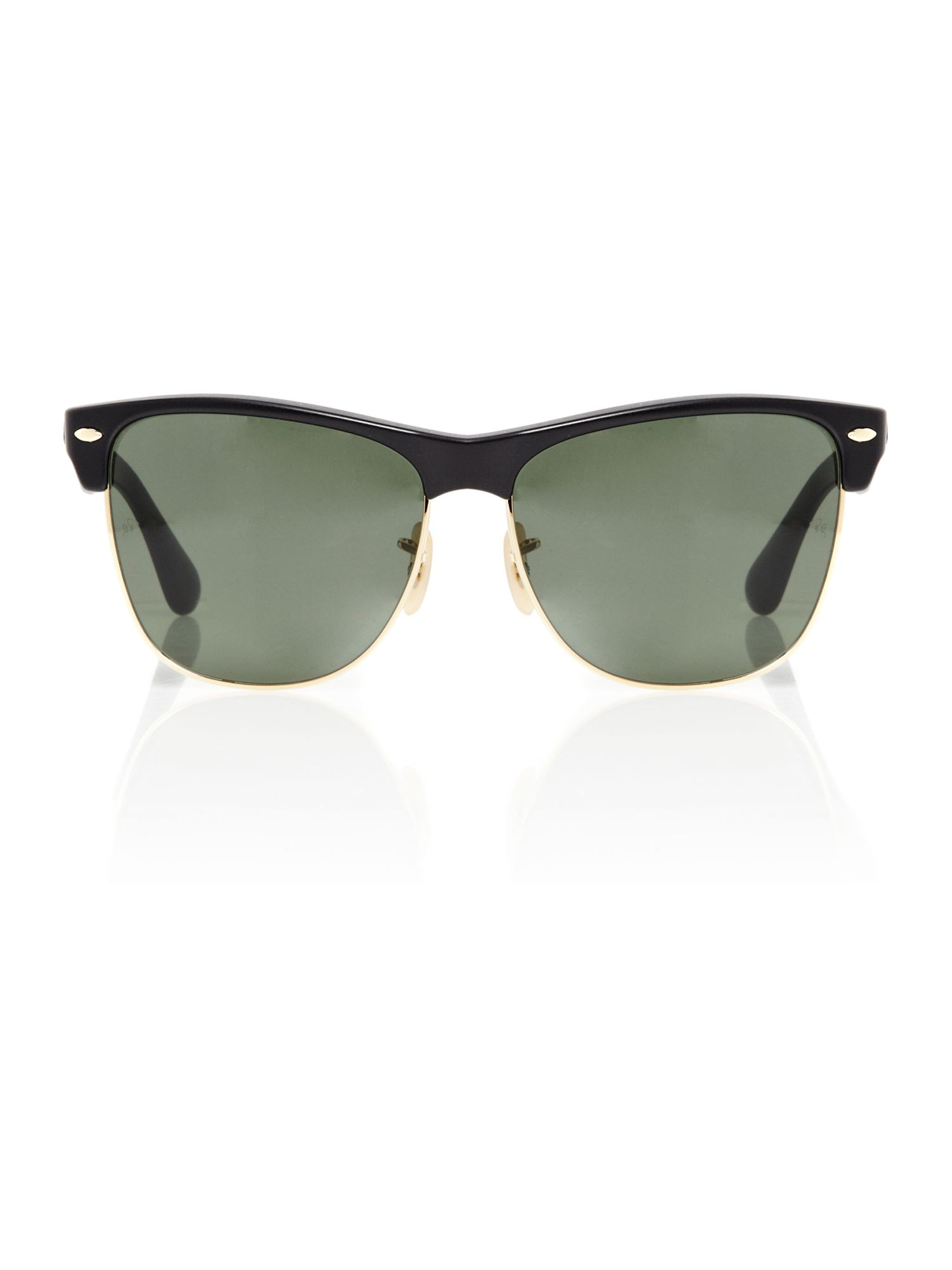 Unisex RB4175 Clubmaster New Black Sunglasses