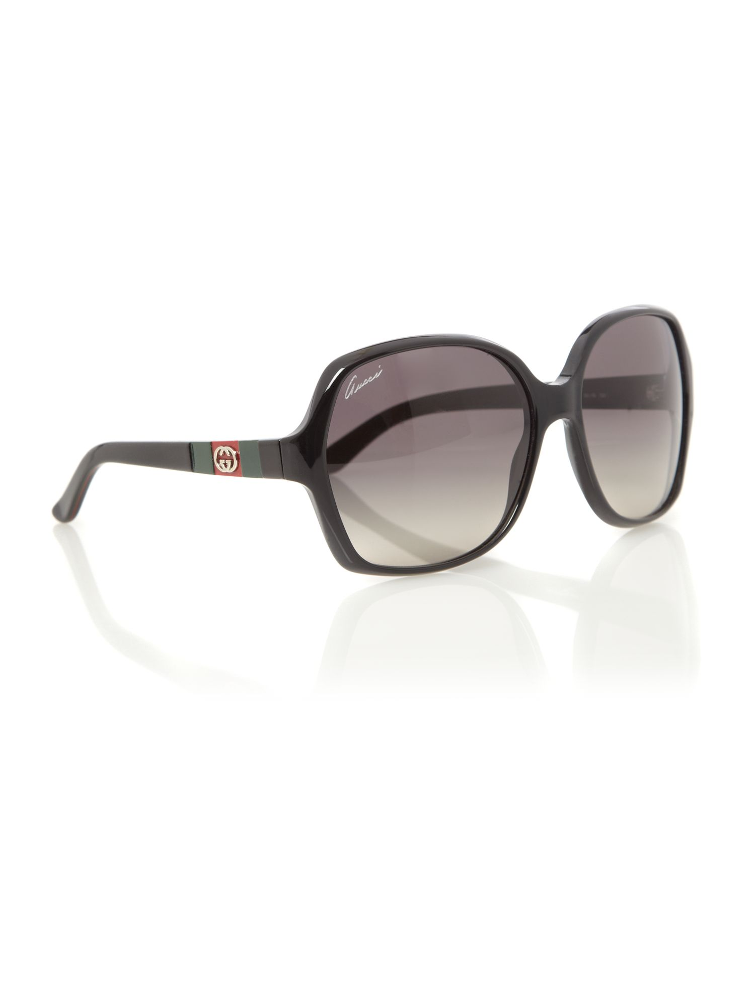 Ladies GG3538/S Black Sunglasses