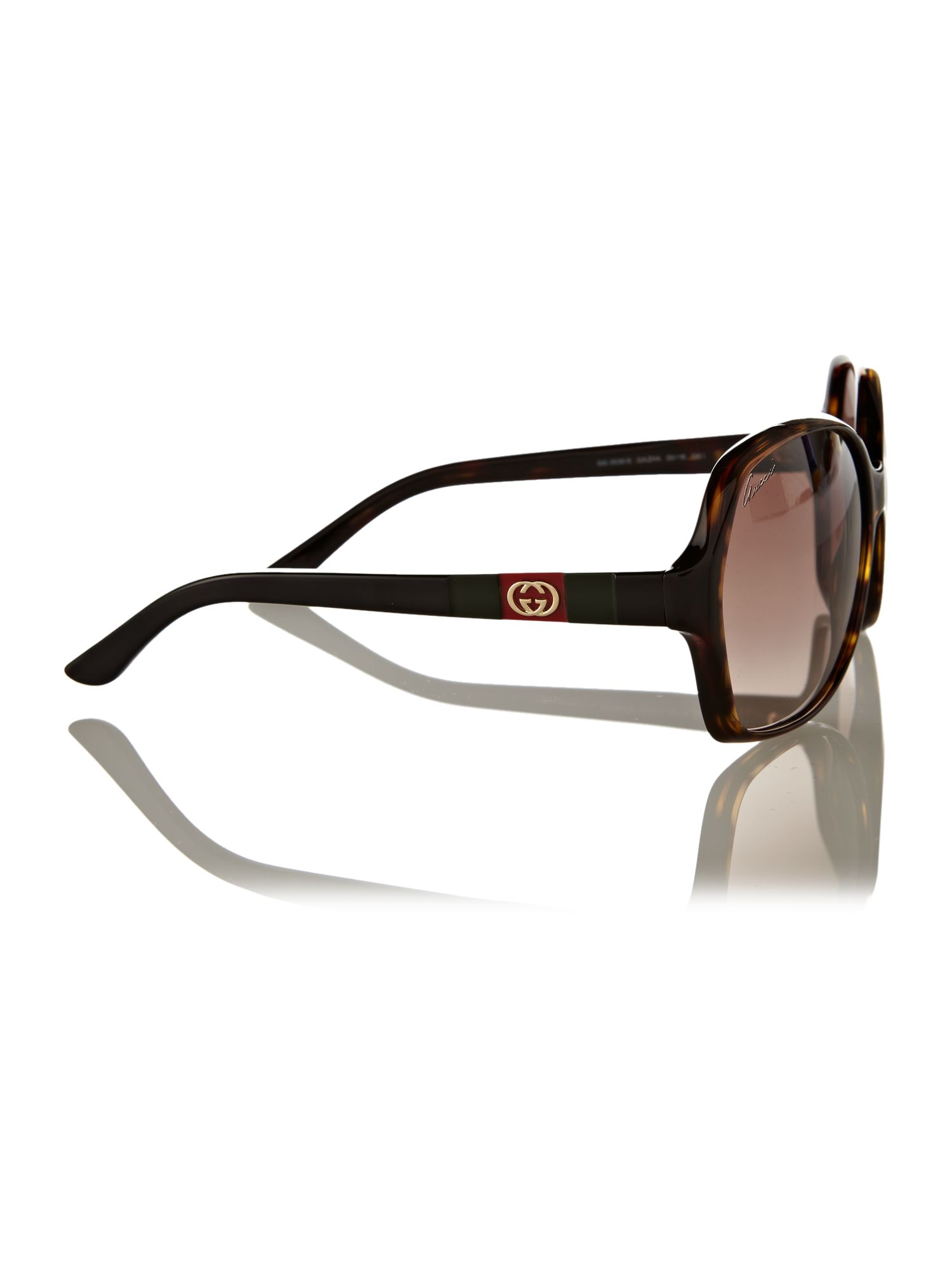 Ladies GG3538/S Dark Havana Sunglasses