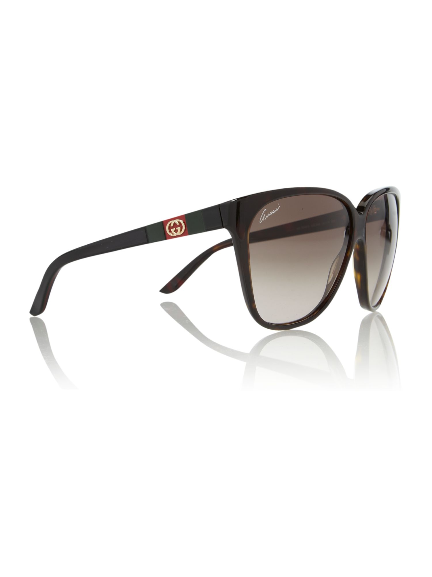 Ladies GG3539/S Dark Havana Sunglasses