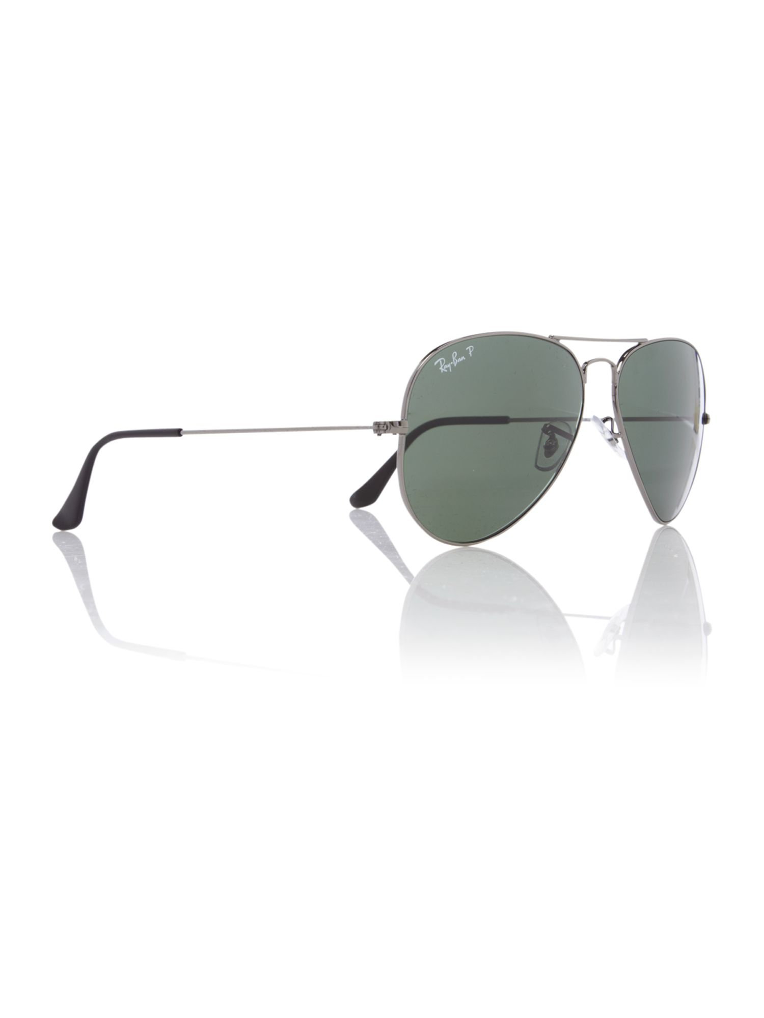 Unisex RB3025 58 Aviator Sunglasses
