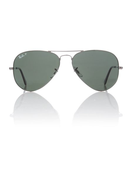 Ray-Ban Unisex RB3025 58 Aviator Sunglasses