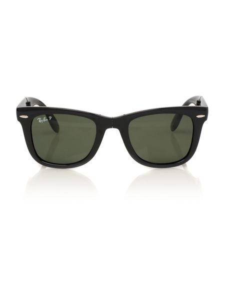 Ray-Ban Unisex RB4105 Folding Wayfarer Sunglasses
