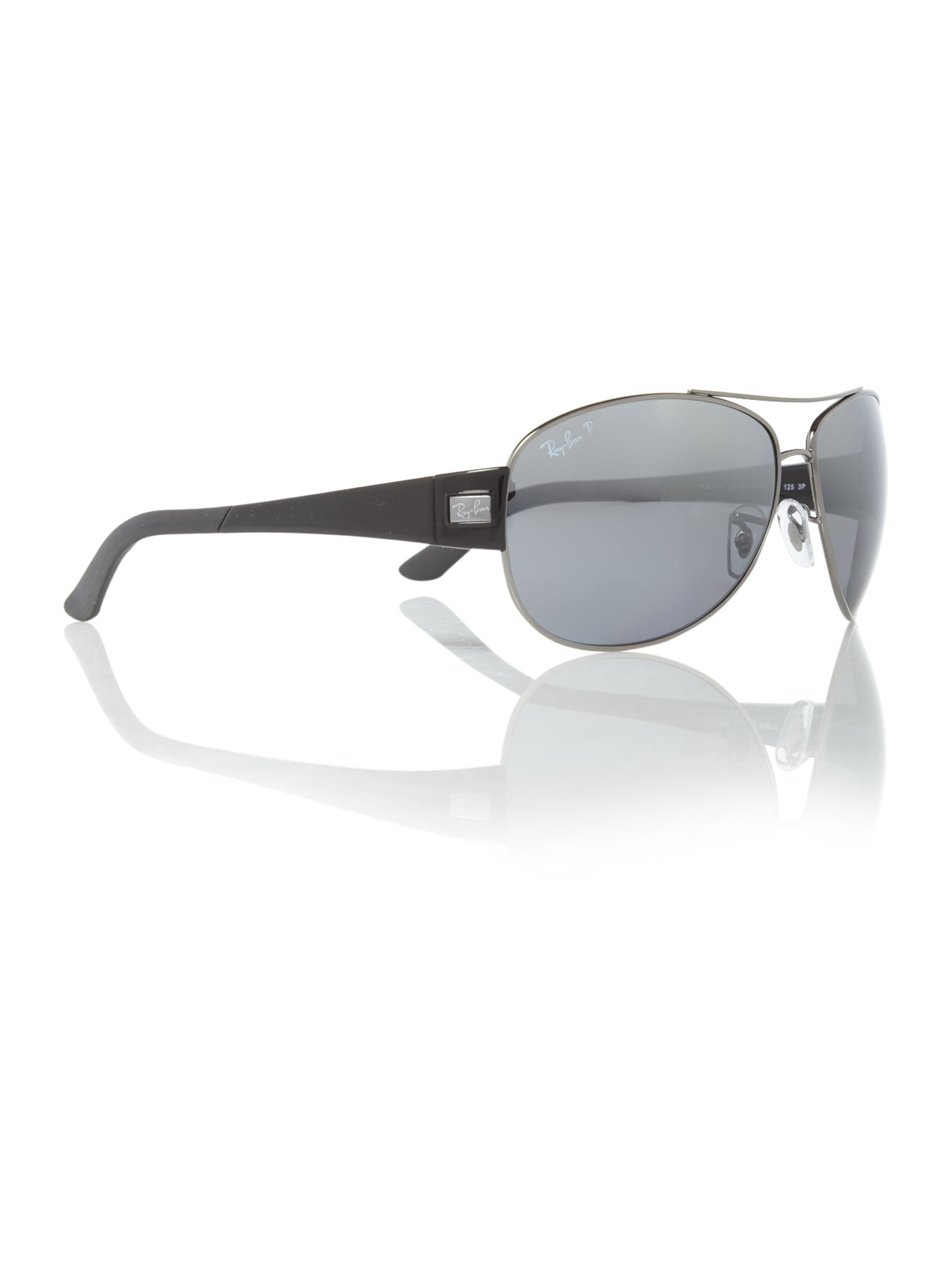 Unisex RB3467 004/82 Pilot Sunglasses