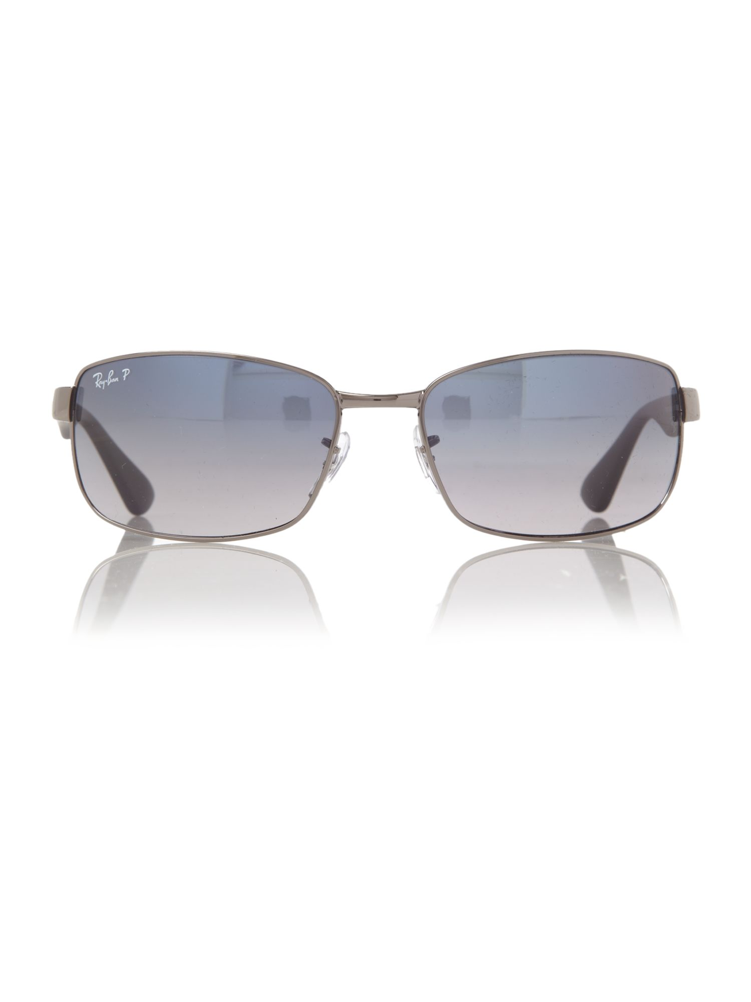Mens RB3478 63 Rectangle Sunglasses