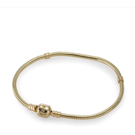 Pandora 14ct yellow gold bracelet